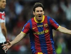 O dia em que Messi e Guardiola atingiram o ápice e humilharam o United em Wembley. EFE