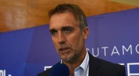 Batigol, ex attaccante di Fiorentina e Roma. Goal