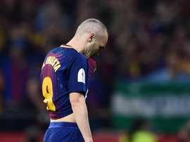 Iniesta está de saída do Barcelona. Goal