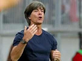 Löw está furioso com a sequência da Alemanha.Goal