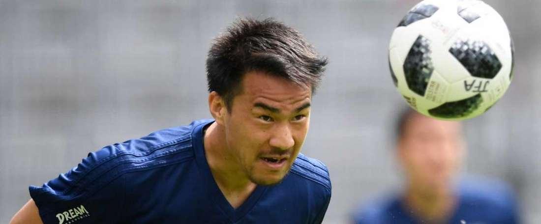 Okazaki e Shoji são dúvidas do Japão para estreia. Goal