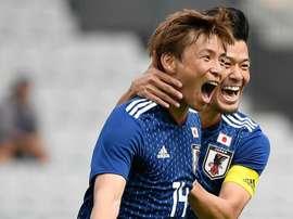 O Japão bateu o Paraguai em particular. Goal