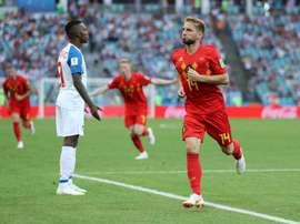 Ataque belga engrenou no segundo tempo e trouxe a vitória. Goal