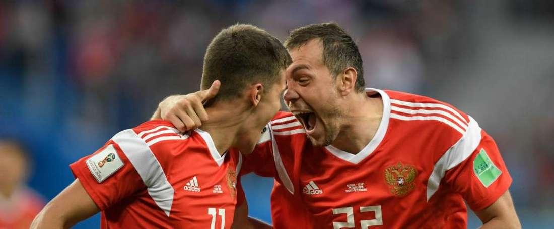 A Rússia voltou a vencer neste Mundial. Goal