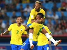Le Brésil fini premier de son groupe. GOAL