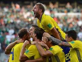 Suécia atropela México e se classifica em primeira do grupo. Goal