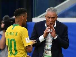 Tite parle de la blessure de Neymar. Goal