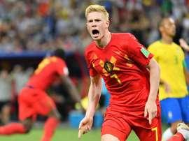 De Bruyne, buteur heureux face au Brésil. Goal