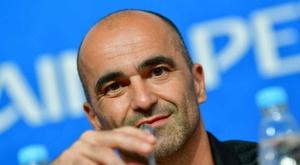 Martínez est content pour la Belgique. Goal