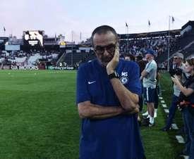 Europa League: Sarri elogia exibição do Chelsea, mas alerta para vacilos no ataque
