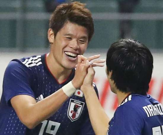 Petit événement lors du Japon-Venezuela. Goal