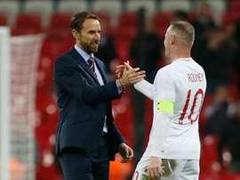 Rooney a tiré sa révérence hier. Goal