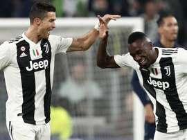Matuidi deixou vários elogios a Cristiano Ronaldo. Goal
