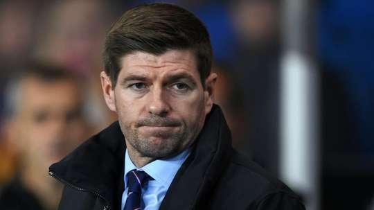 Gerrard n'est pas content. Goal