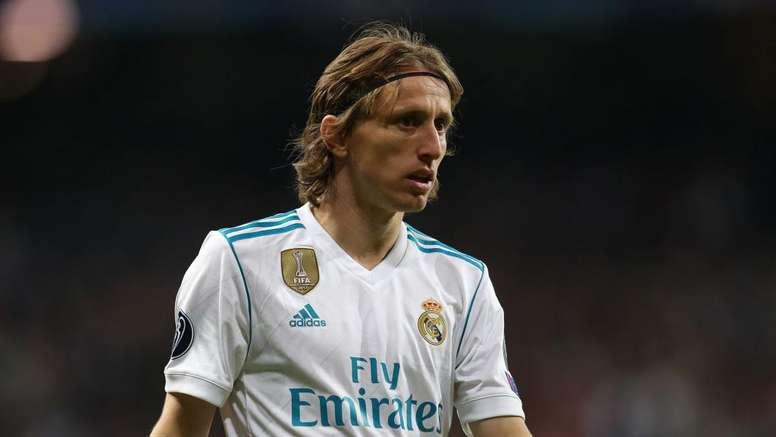 Modric n'a pas encore pris sa décision. Goal