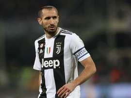 Chiellini acredita que o Atético estava mais integrado em Itália. Goal