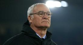 Ranieri contro alcuni giocatori. Goal