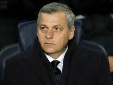 Bruno Genesio a tenu à encourager son successeur. AFP