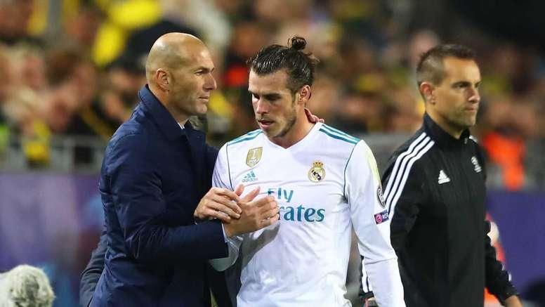 L'agent de Bale répond à Zidane : 'C'est une honte'. AFP