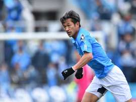 Japonês renova contrato aos 52 anos. AFP