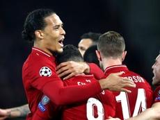 Van Dijk s'est exprimé après la victoire des siens face à Porto. Goal