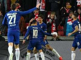 Le résumé des matches d'Europa League. AFP