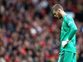 De Gea s'est encore loupé face à Chelsea. Goal
