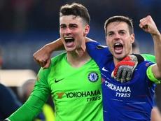 Meses após ser vilão, Kepa vira herói do Chelsea finalista da Europa League