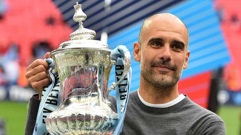 Manchester City s'est adjugé la FA Cup. GOAL
