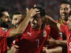 Débuts timides de l'Egypte. Goal