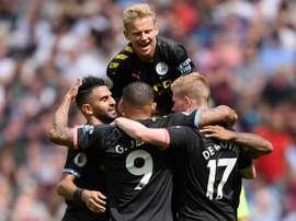 Manchester City étrille West Ham. AFP