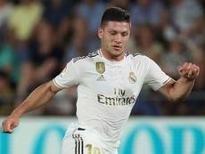 L'attaccante serbo del Real Jovic. Goal
