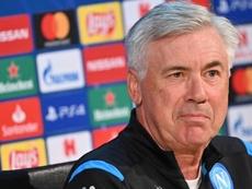Il tecnico del Napoli, ex Milan, Ancelotti. Goal