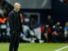 Zidane n'a pas oublié la défaite contre le PSG. Goal