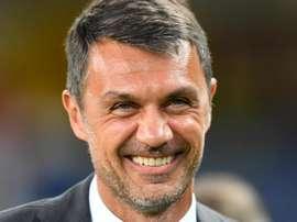 L'ex bandiera e attuale dirigente del Milan Maldini. Goal