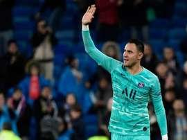 Navas : 'Le Real Madrid a changé ma vie'. AFP