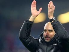 Le père de Pep Guardiola évoque un retour de son fils au Barça. AFP