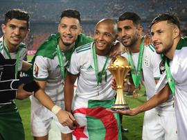 Un match amical Algérie-Colombie à Lille en octobre 2019. Goal