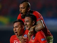 Em busca do tricampeonato, Chile goleia o Japão em estreia da Copa América