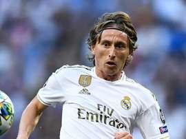 Luka Modric dévoile ses favoris pour le Ballon d'Or. AFP