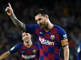 Lionel Messi capitano e numero 10 del Barça. Goal