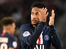 Un ancien joueur du PSG encense Neymar. AFP
