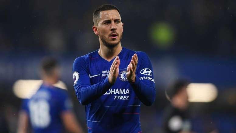 Hazard est resté évasif sur son avenir. Goal