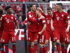 Le Bayern fonce vers le titre. Goal
