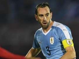 O capitão da seleção uruguaia não fez festa após a vitória sobre o Chile, no Maracanã.