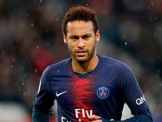 Ney n'est pas heureux à Paris. Goal