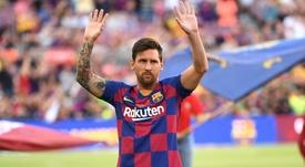 Messi torna dall'infortunio. Goal