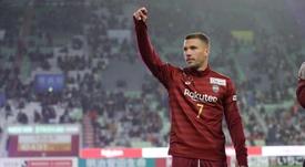 Lukas Podolski quitte Vissel Kobé. Goal