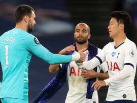 Lloris s'explique après son embrouille avec Son. Goal