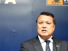Le président de la fédération japonaise touché par le coronavirus. AFP